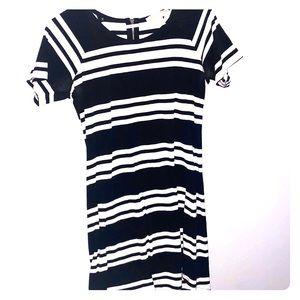 Michael Kors striped dress.